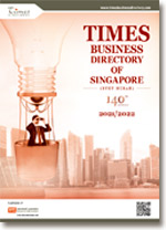 Times Business Directory of Singapore Book Cover